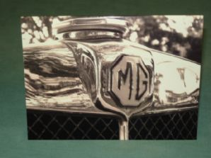 MG M-Type Greetings Card